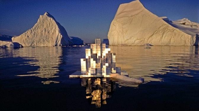 Heinz Mack'ın 90. Yaşını Kutlamak İçin Kunts Palast'ta Açılan Sergide, Sanatçının Arktik Sularda Gerçekleştirdiği