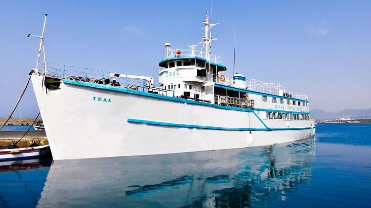 Girne Üniversitesi'ne Ait 66 Yaşındaki TEAL Gemisi, Denizcilik Tarihi Müzesi Olarak Kullanılacak.