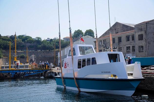 İstanbul Büyükşehir Belediyesi'nin Haliç Tersanesi'nde Üretimine Başladığı