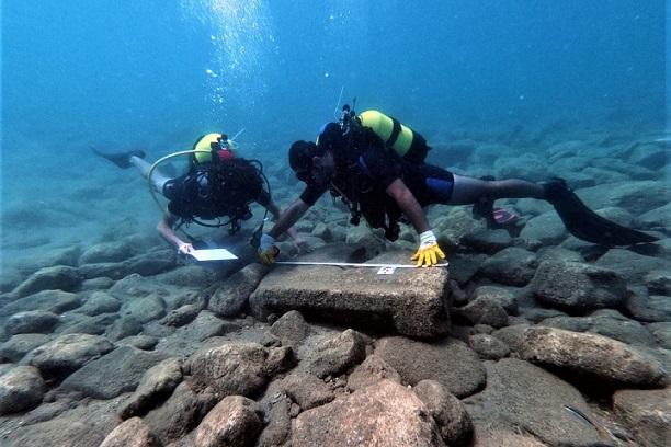 Anemurium Antik Kenti'nde Su Altında Kalan Kent Limanının Yerinin Belirlenmesi İçin Çalışmalar Sürdürülüyor.